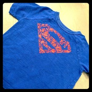 GAP Superman T-shirt with cape